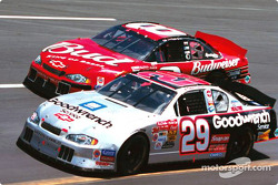 Kevin Harvick and Dale Earnhardt Jr.