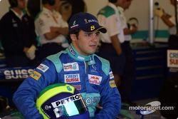 Felipe Massa posing