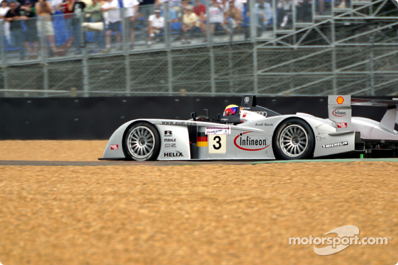 First lap: Michael Krumm