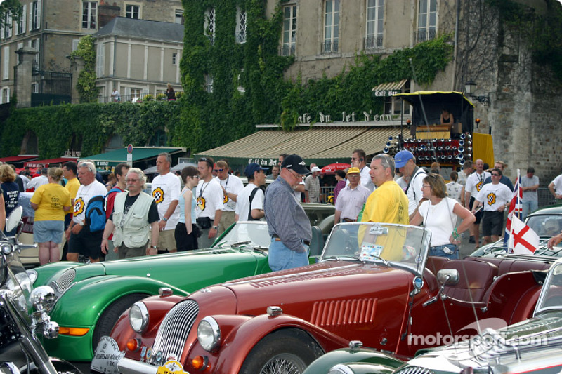 Activity on Place des Jacobins during the drivers parade