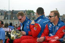 David Donohue, Gunnar Jeanette and Bill Auberlen
