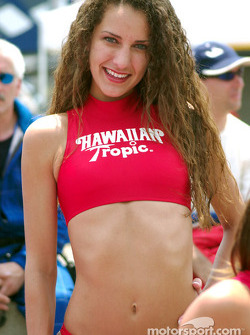 Hawaiian Tropic girl