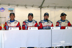 Barber Dodge Pro Series Race press conference: Scott Poirier, Colin Fleming and Charlie Kimball