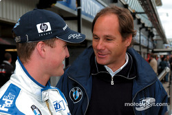 Ralf Schumacher and Gerhard Berger