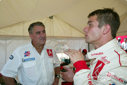 Guy Fréquelin and Sébastien Loeb