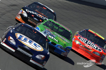 Rusty Wallace, Bobby Labonte, Todd Bodine and Jeff Gordon