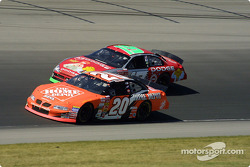Tony Stewart and Jeremy Mayfield
