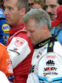 Jeremy Mayfield and Ricky Rudd