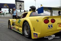 Butch Leitzinger's Corvette