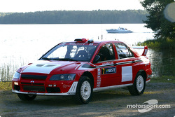 Launch of the Mitsubishi Lancer Evolution WRC2