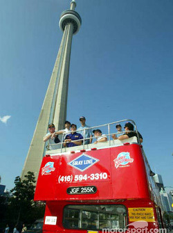 Visit of Toronto with ALMS drivers
