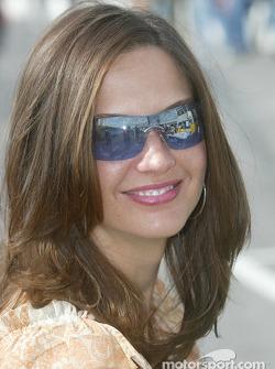 Buddy Lazier's wife Kara