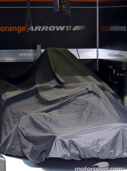 Arrows garage area