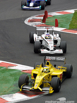 Giancarlo Fisichella and Jacques Villeneuve