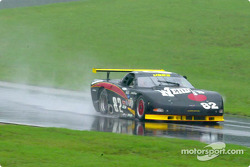Jack Willes, in the #82 Corvette of Dick Greer Racing - Wendy's, took the American GT pole away from Andy Richards on the final lap of qualifying