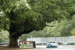 Porsche in the Oak turn