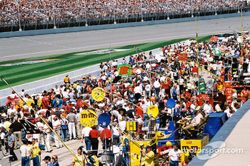 A very crowded grid
