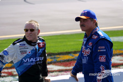 Mark Martin and Terry Labonte