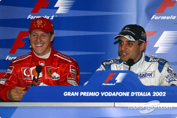Press conference: Michael Schumacher and Juan Pablo Montoya