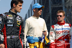 Mark Webber, Jenson Button and Allan McNish