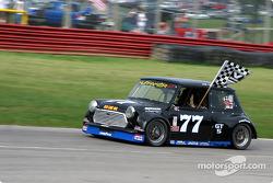 Race winner Joe Huffaker