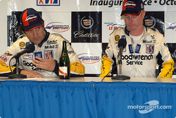 Press conference: GTS winner Ron Fellows and Johnny O'Connell