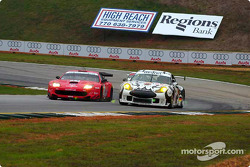 Prodrive Ferrari 550 Maranello and Seikel Motorsport Porsche 911 GT3-RS