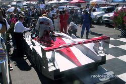 Race winner Frank Biela