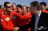 Tutte le Ferrari a Misano