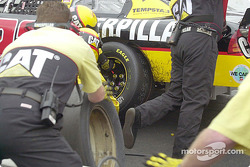 Ward Burton tire change