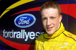 Ford Rallye Sport Junior Team driver Kris Meeke