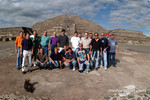 Visit at Teotihuacan pyramids