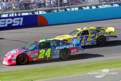 Jeff Gordon and Dave Blaney
