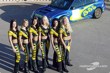 The always charming Pirelli girls