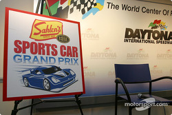 Press conference announcing the Sahlen's Sports Car Grand Prix at Watkins Glen International