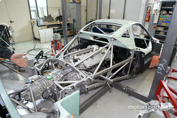 Construction of chassis #34, the first Pagani GTS racer