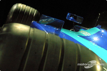 Detail of the new Sauber Petronas C22