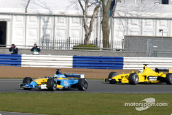 Allan McNish and Giancarlo Fisichella