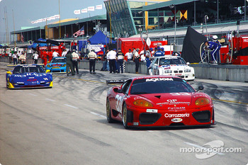 #33 Scuderia Ferrari of Washington Ferrari 360GT: Cort Wagner, Brent Martini heads to starting grid