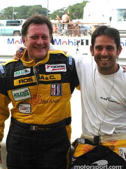 Alex Caffi and Gabrio Rosa