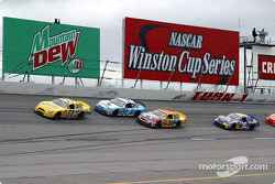 Dave Blaney leads the field