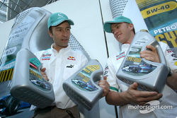 Heinz-Harald Frentzen and Nick Heidfeld