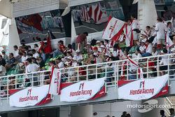 Fans at Sepang