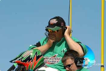 Bobby Labonte crew chief Michael McSwain