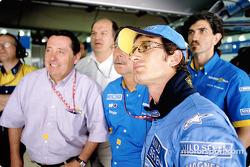 Renault F1 CEO Patrick Faure and Jarno Trulli