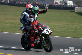 Shane Byrne and Michael Rutter
