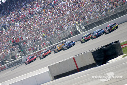 Restart: Bill Elliott leads the way