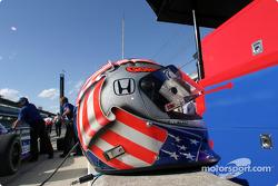 Robby Gordon's helmet
