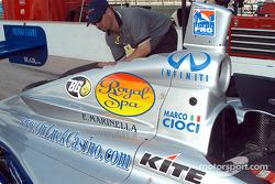 Marco Cioci's car