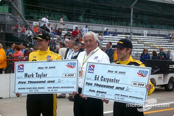 Mark Taylor, Roger Bailey and Ed Carpenter
